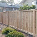 Cedar Fence in Riverbend